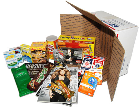 boxed items
